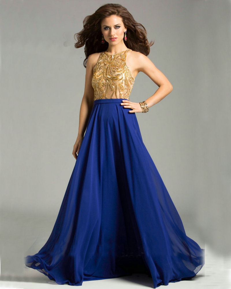 Off White Wedding Gown Meaning: Royal Blue Bridesmaid Dress
