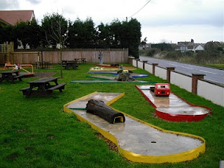 Pub Beer Garden Crazy Golf