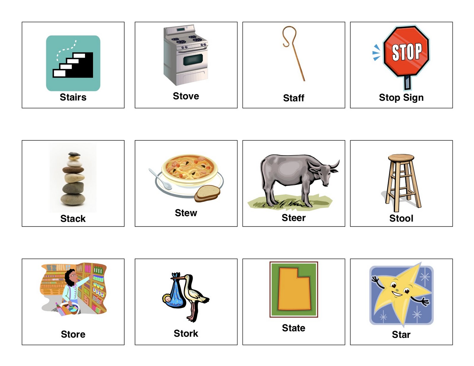 Clear Speech Therapy S Blends