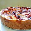 PEACH BLUEBERRY CAKE RECIPE