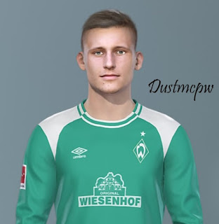 PES 2019 Faces Maximilian Eggestein by Dustmcpw