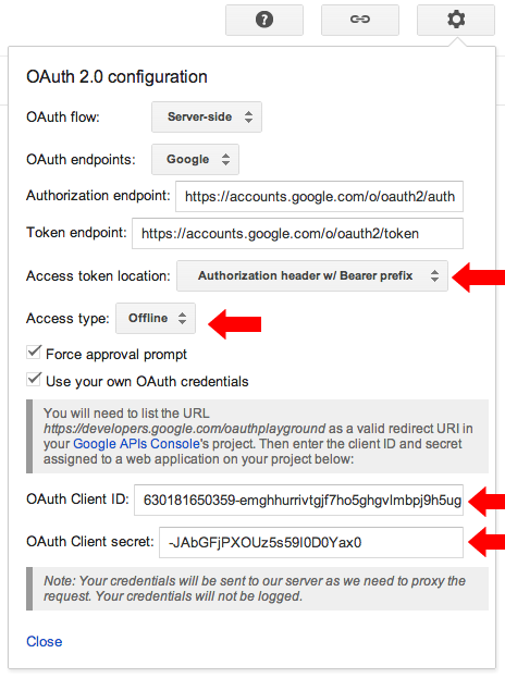 Sending mail with Gmail using XOAuth2 | just for my memo