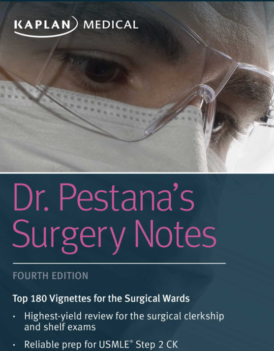 Dr  Pestana's Surgery Notes 4th edition 2018 pdf free download