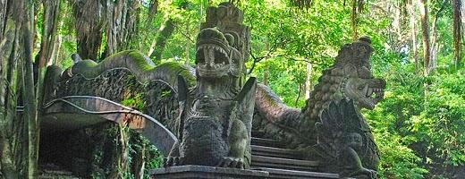 Objek Wisata Ubud Monkey Forest