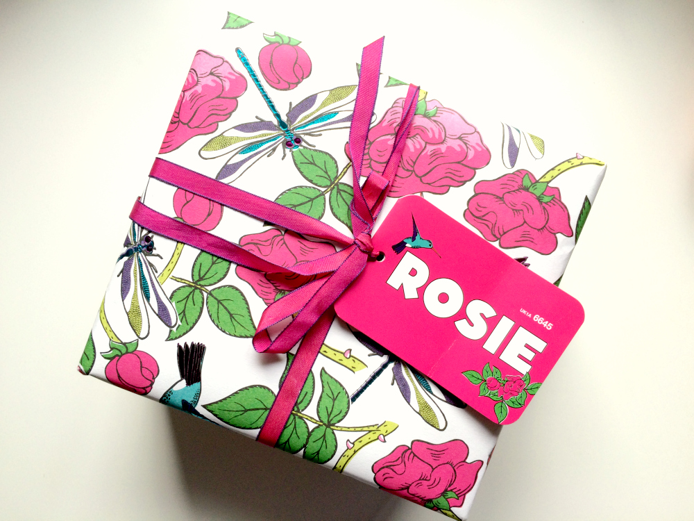 LUSH Rosie Giftset
