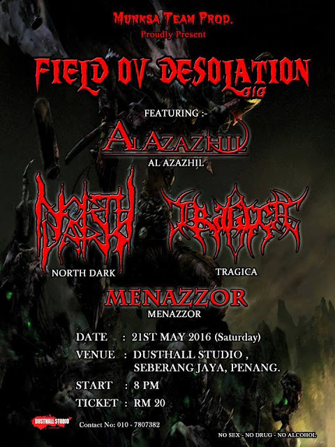 21/05/2016 - FIELD OV DESOLATION