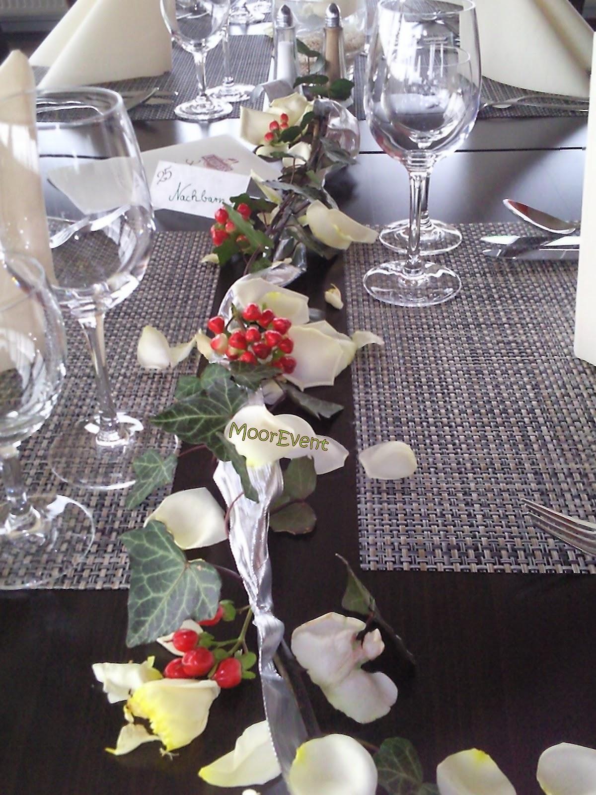 Gesteck fr den Brauttisch Hochzeit t Brauttisch