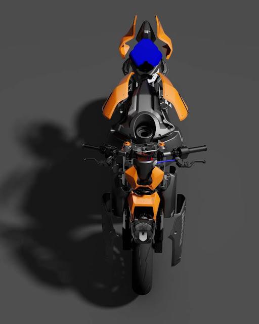 ottonero cafe racer: buell xb gcode 1.2 / tex design