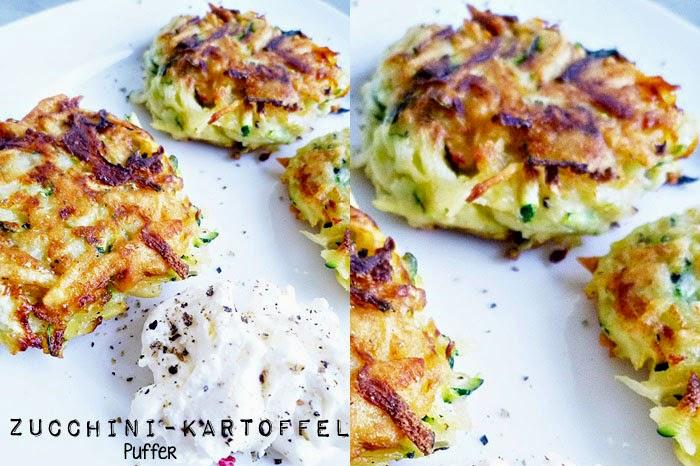 Zucchini-Kartoffelpuffer