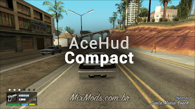 gta sa mod cleo new novo hud interface ace hud