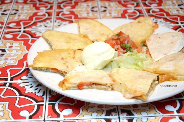 Sante Fe Quesadillas (RM29.95)
