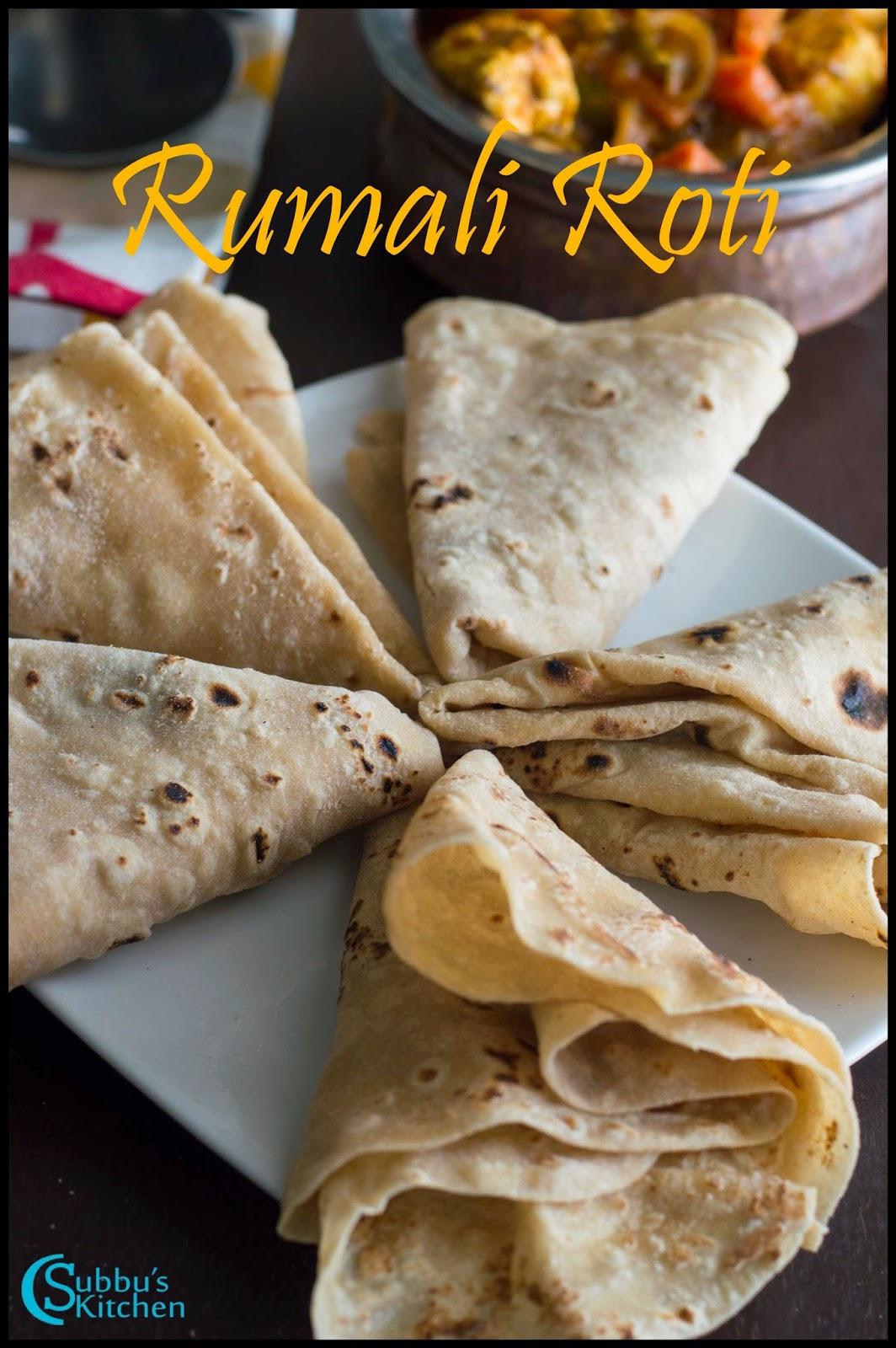 Roomali Roti Recipe | Rumali Roti Recipe