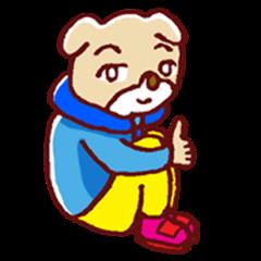 dog child sticker