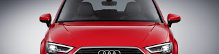 2017 Audi A3 hatchback .. small and modern design