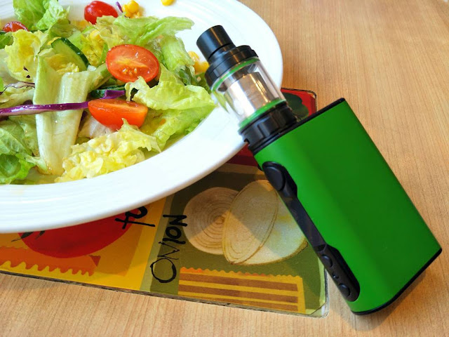 Healthy Eating And Green Vape
