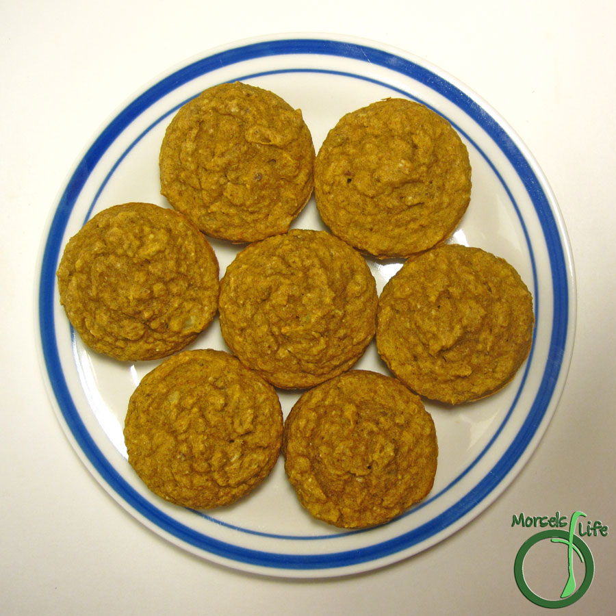 Morsels of Life - Pumpkin Spice Muffins - Easy pumpkin spice muffins - healthy enough for breakfast, tasty enough for dessert!