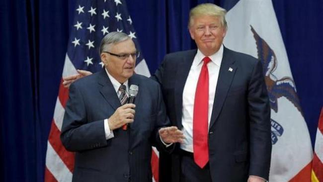 US President Donald Trump pardons ex-Arizona sheriff Joe Arpaio accused of racial profiling