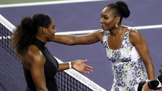Serena Williams knocked out by sister Venus at Indian Wells