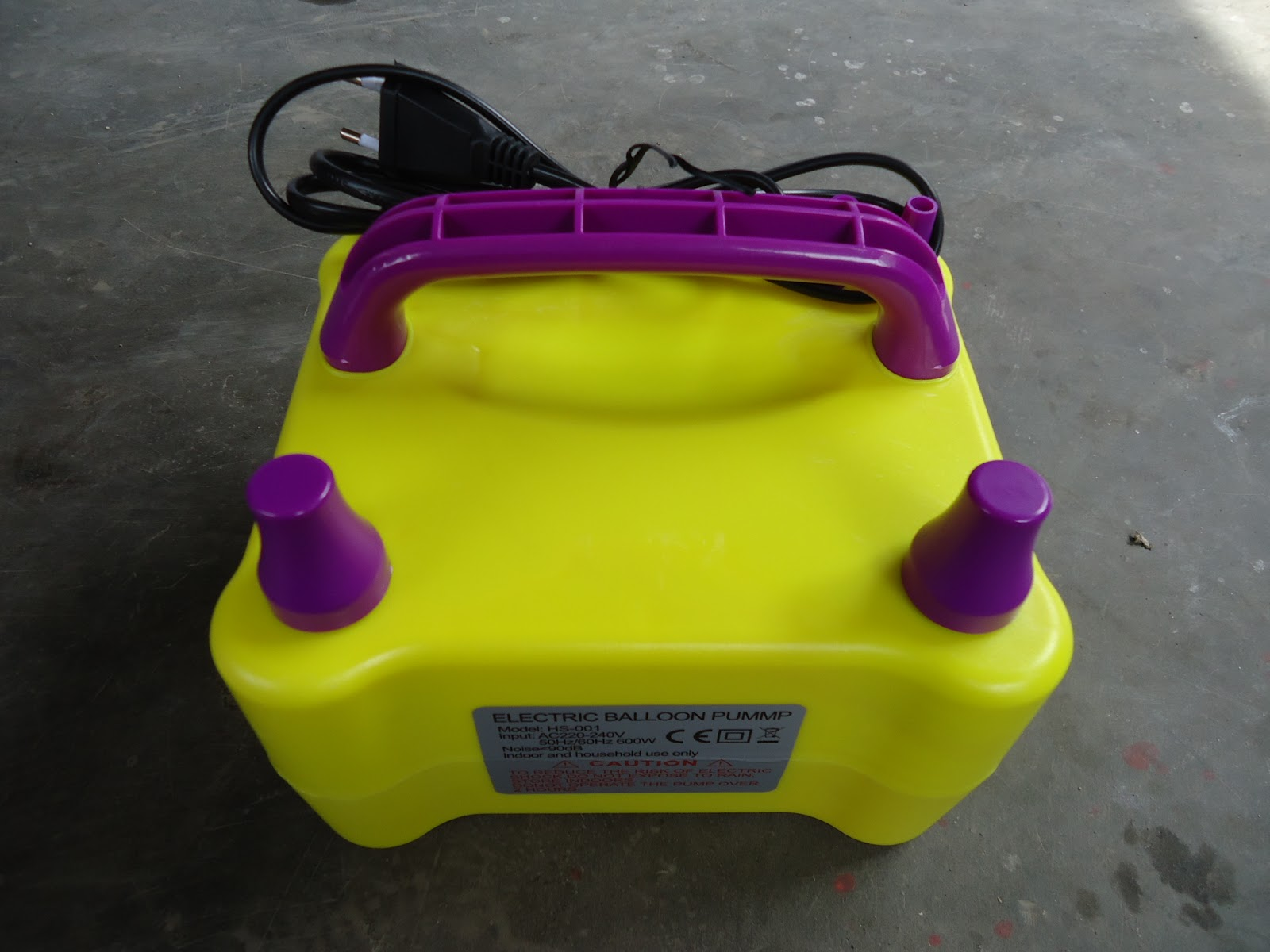 Pompa Balon Manual Elektrik Aneka Telp 021 29680094 Hp Listrik Electric Balloon Pump Dengan Kecepatan 1500pcs Jam Sangat Membantu Usaha Dekorasi Anda Cukup Menekan Tombol Katup Udara Secara Otomatis Angin Keluar