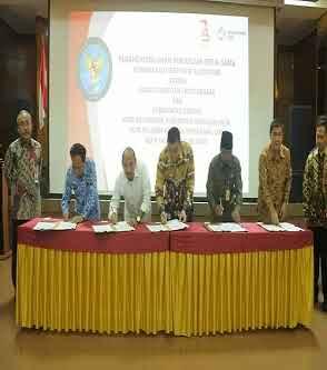 DPM-PTSP Kota Palembang resmi menerima serfitikat tanda tangan digital (digital signature)