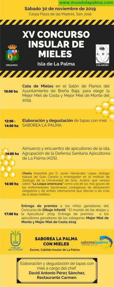 BREÑA BAJA: XV Concurso Insular de Mieles de La Palma