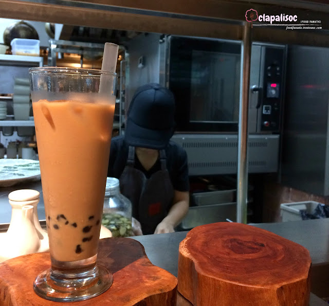 HK Milk Tea from Ping Pong Diplomacy