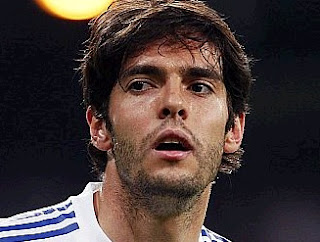 Kaka played with beard the last Real Madrid match