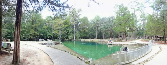 Ponce de Leon Springs State Park, Florida USA