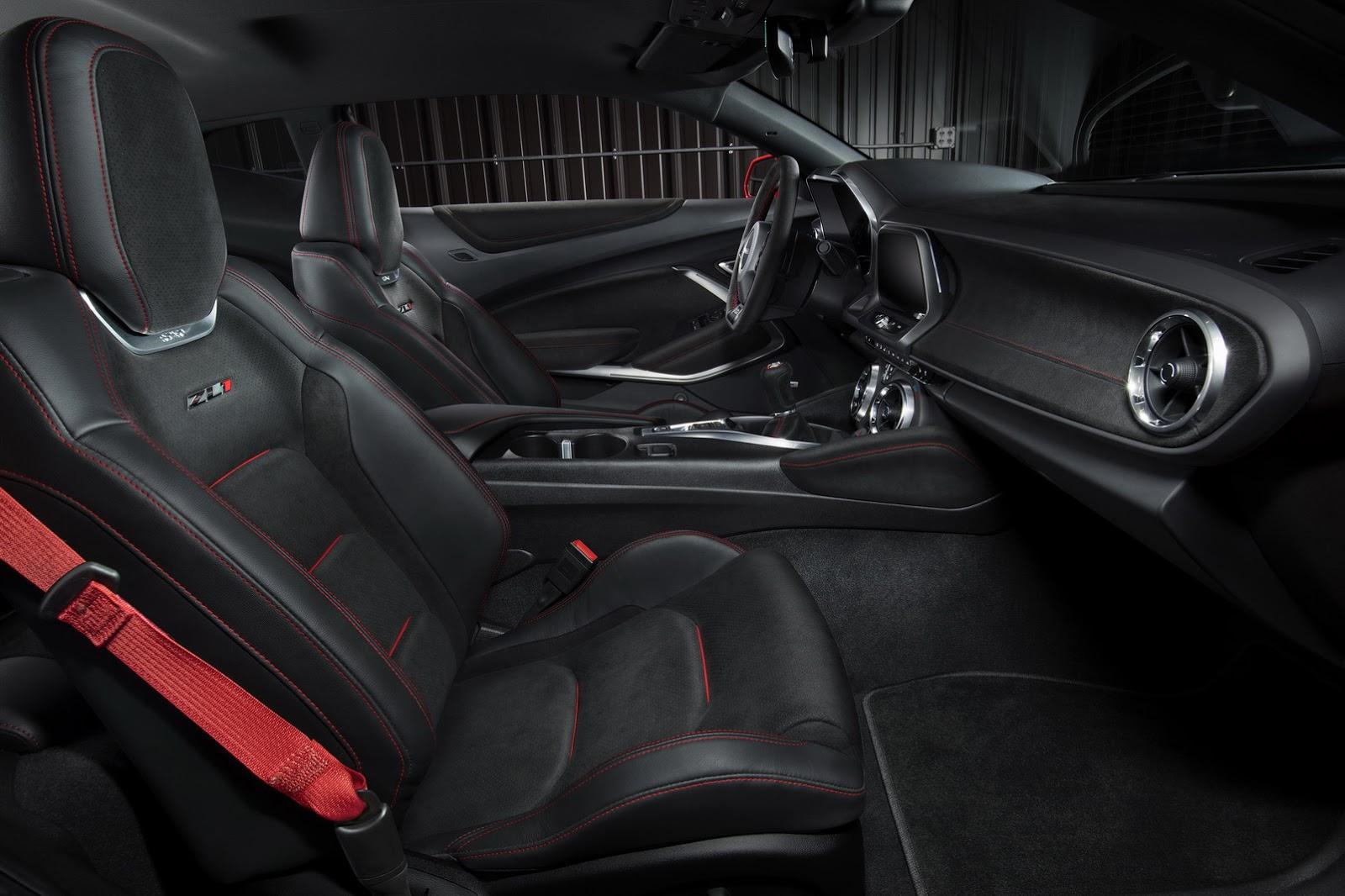 Chevrolet Camaro ZL1 2017 ra mắt bản Thần Sấm 640 mã lực