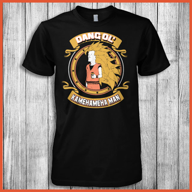 Dang ol' Kamehameha Man T-Shirt