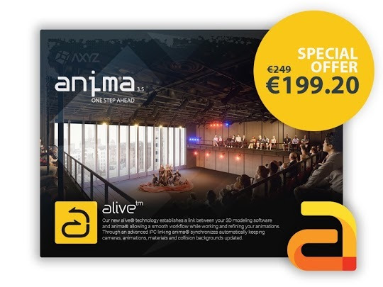 Anima v3 5 4 supports 3ds Max 2020 and UE4 4 22 with Sale off Price