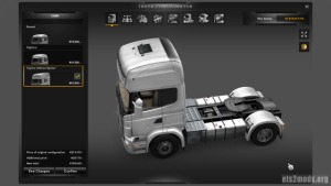 Scania Topline without Spoiler