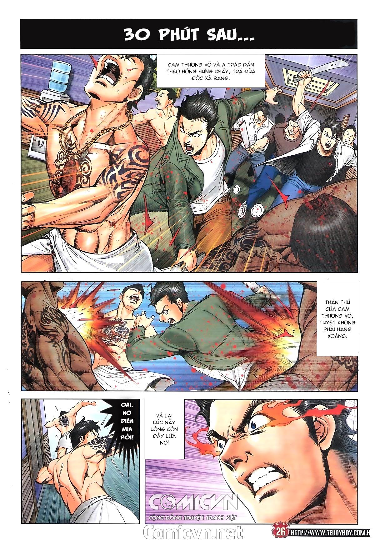 Người Trong Giang Hồ chapter 1809: bát phương phong vũ tụ hoa môn trang 23