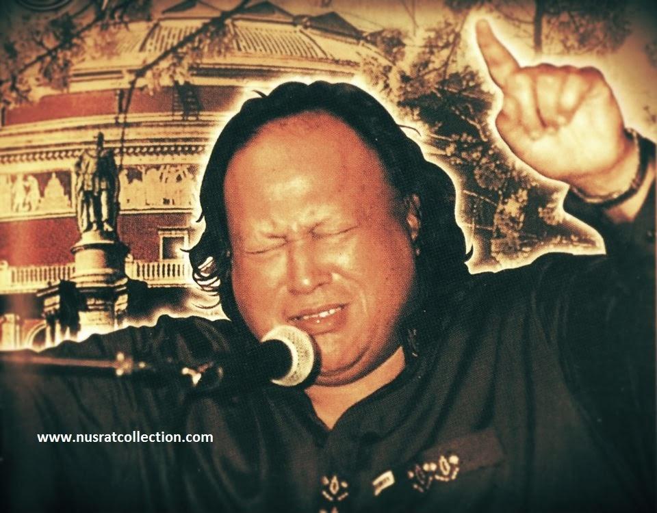 Aap Baithe Hain Balin Peh Meri Ghazal by Nusrat Fateh Ali khan
