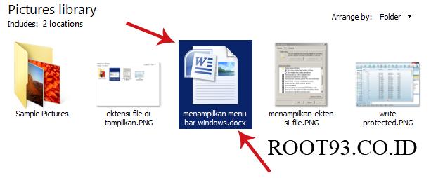ektensi gambar PNG yang di ganti ke docx