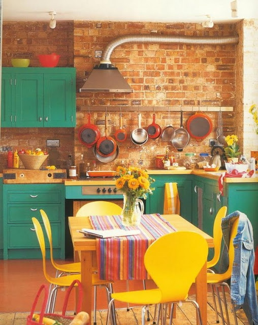 Colorful Kitchens 10