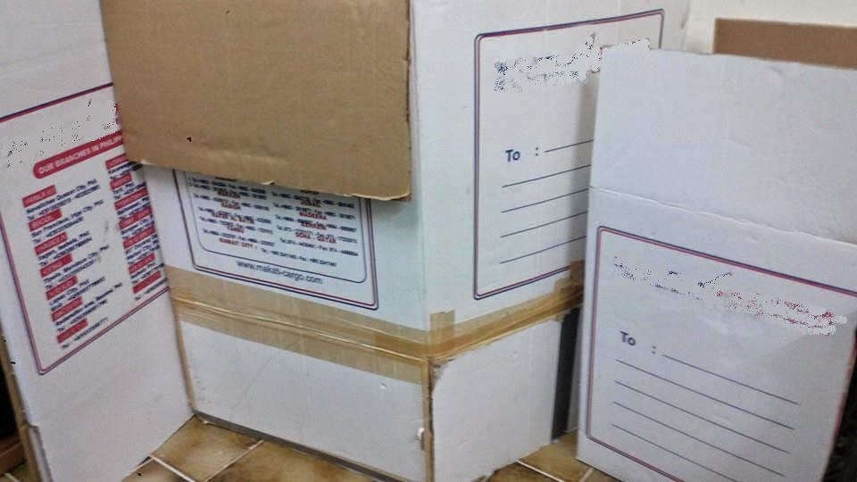 Door to door Balikbayan Boxes to the Philippines