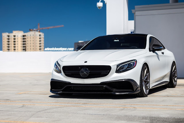 Mercedes-Benz S63 AMG on HRE Wheels by Brabus - #Mercedes #S63 #AMG #HRE #Wheels #Brabus #tuning