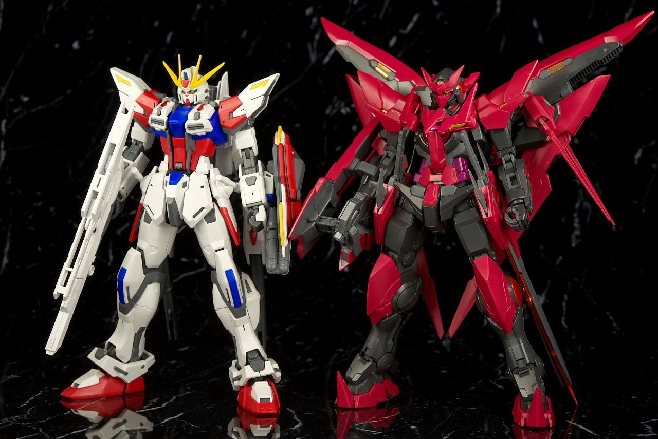 GUNDAM GUY: MG 1/100 Gundam Exia Dark Matter - Review by ...