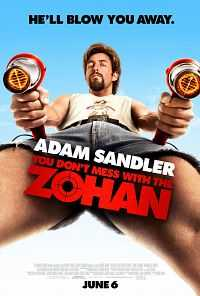 Full Movie You Don't Mess with the Zohan 2008 300mb Hindi Dubbed Dual Audio Download