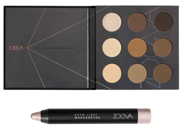 ZOEVA brow collection brow spectrum
