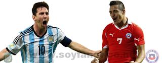 Argentina vs Chile Final Copa Centenario 2016