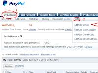 Cara Verifikasi Paypal Terbaru Dan Menambah Email Pembayaran Paypal