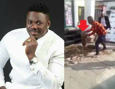 Popular Calabar club owner exposed after 2 human skulls and dead pig were allegedly exhumed from his club entrance (photos/video)