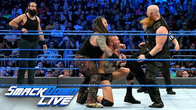 Erik Rowan Luke Harper Randy Orton Bray Wyatt Smackdown Live