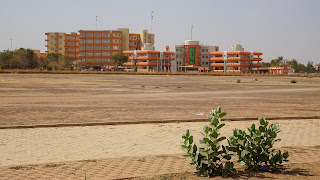 THe building that hosts many governmental parties in Ouagadougou