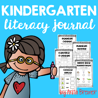 These Kindergarten Literacy Journals can be used as a reinforcement tool, giving students that daily extra practice they need to help them master concepts. All of the Kindergarten phonics and phonemic awareness benchmarks are spiraled throughout the journal.