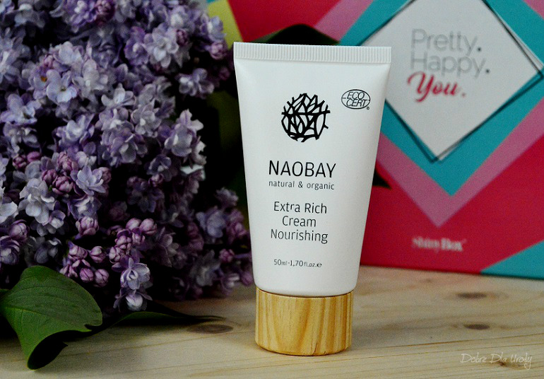 PRETTY. HAPPY. YOU. by ShinyBox - Naobay Bogaty Odżywczy Krem do twarzy Extra Rich Cream Nourishing