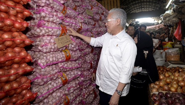 Gerindra: Ada Ketum Parpol Dibalik Meroketnya Harga Bawang Putih?