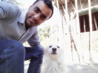 Sajal Mondal with Darrell